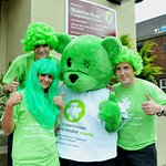 Waterloo Road Stars Go Green For Charity