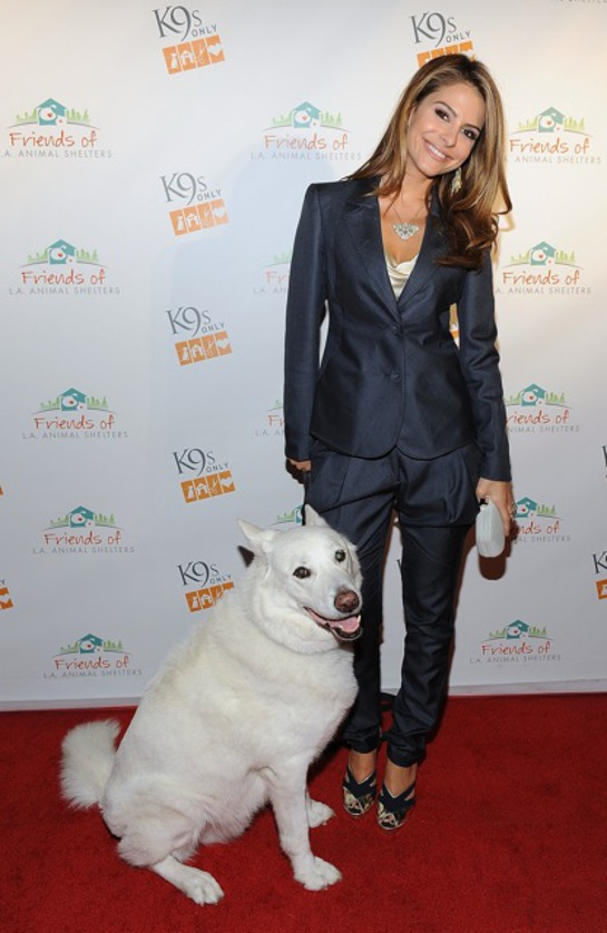 Maria Menounos at K9s Only Event