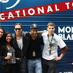 John Lennon Educational Bus Visits Black Eyed Peas Concert