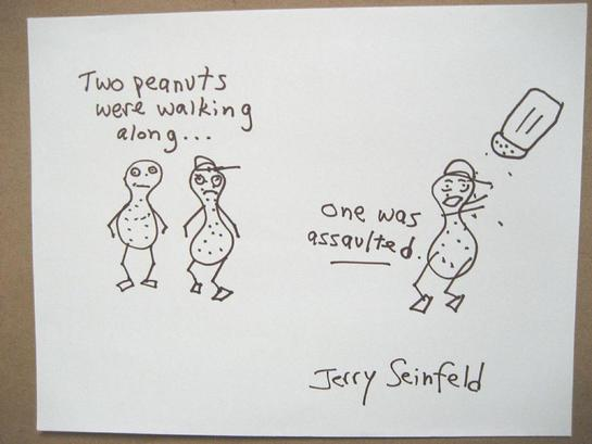 Jerry Seinfeld Doodle