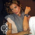 Elisabetta Canalis Wears Charity Watch On Dancing With The Stars