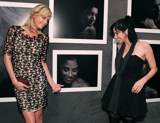 Charlize Theron and Sarah Silverman