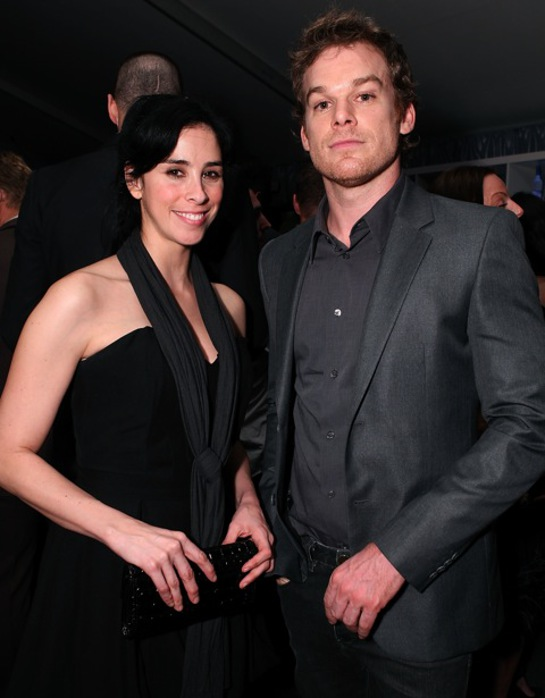 Sarah Silverman and Michael C. Hall