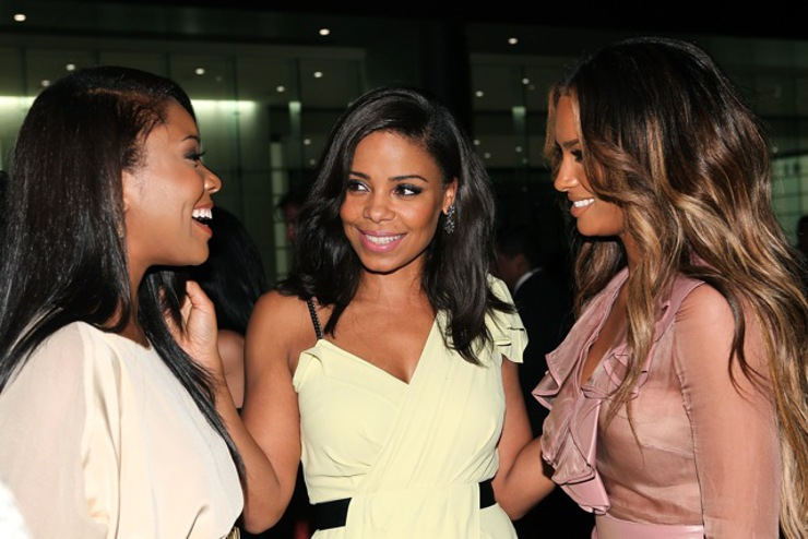 Singer Ciara and actresses Gabrielle Union and Sanaa Lathan