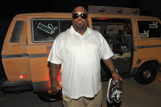 Cee Lo Green at PUMA Soles4Souls Event