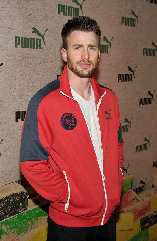 Chris Evans at PUMA Soles4Souls Event