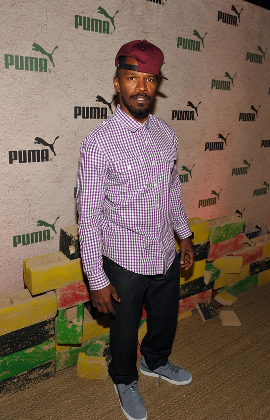 Jamie Foxx at PUMA Event