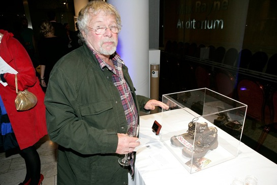Bill Oddie at Small Steps Celebrity Shoe Auction