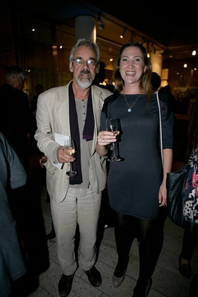 Roger Lloyd-Pack at Small Steps Celebrity Shoe Auction