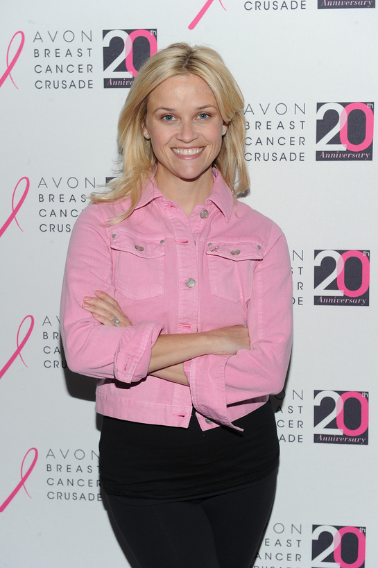Reese Witherspoon, Avon Foundation for Women Honorary Chair, at the 2011 Breast Cancer Global Congress in New York City. (Dimitrios Kambouris/Getty Images)