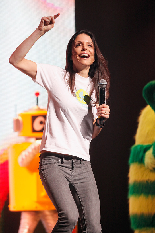 Bethenny Dancing for Baby Buggy