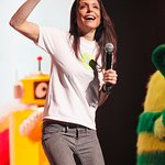 Bethenny Frankel Dances With Yo Gabba Gabba For Charity