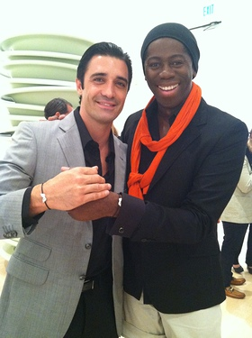 Gilles Marini and Miss J