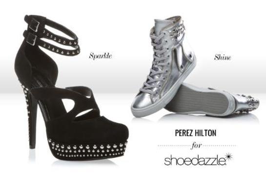 Perez Hilton Shoe Dazzle Designs