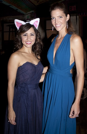 Nikki Boyer And Tricia Helfer At Kitten Rescue Fur Ball