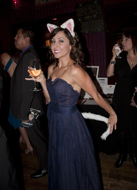 Nikki Boyer Attends Kitten Rescue Fur Ball