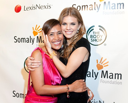 Somaly Mam and AnnaLynne McCord