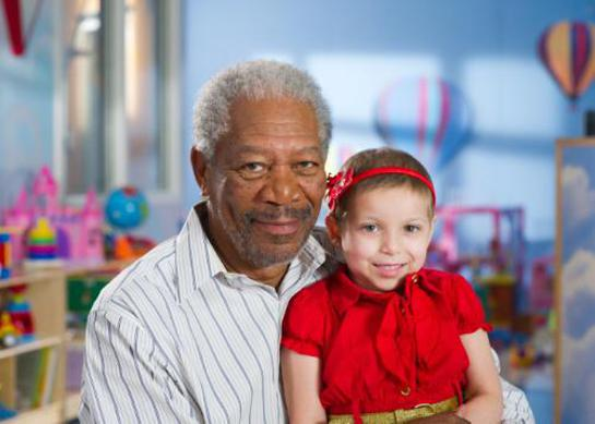 Morgan Freeman Thanks and Giving 2011