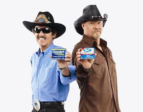 Richard Petty and Trace Adkins