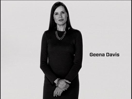Geena Davis PSA