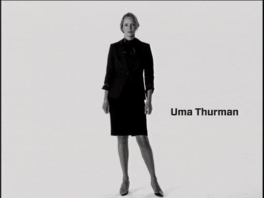 Uma Thurman PSA