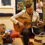 X Factor Star Sings For Blind Children