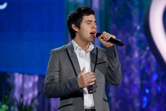 David Archuleta Performs At Children's Miracle Network Awards