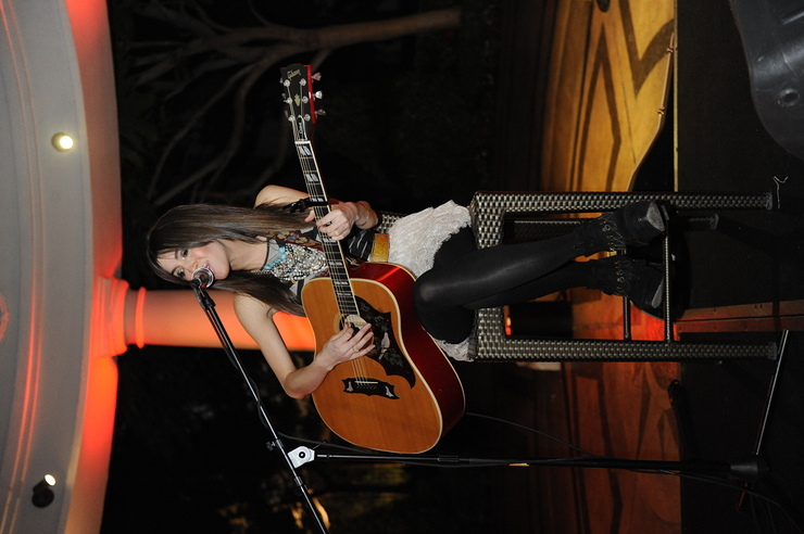 Kate Voegele Performs at Ante Up For Autism