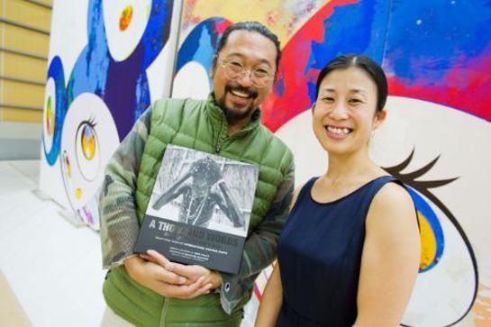 Takashi Murakami & Yumi Terahata, International Medical Corps Japan.