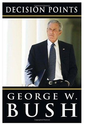 Bush to autograph book for charity auction