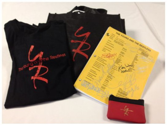 Young and the Restless Items for Airlift Research Foundation auction
