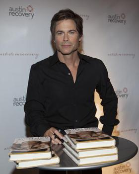 Rob Lowe at Austin Recovery's Artists on Recovery Fundraiser Luncheon