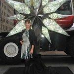 Olivia Wilde Unveils Swarovski Star On Rockefeller Christmas Tree