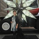 Olivia Wilde Unveils Swarovski Star On Rockefeller Christmas Tree