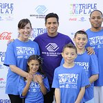 Mario Lopez Crowns Triple Play Fit Family Winners
