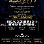 Andrea Bocelli To Launch Charity Foundation
