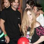 Avril Lavigne Hits The Lanes For Charity