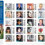 PETA Honors Famous Vegetarians On Postage Stamps