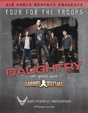 Daughtry Tour For The Troops