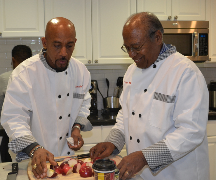 Montel Williams Cooks