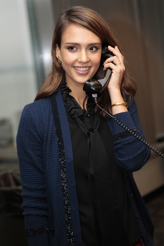 Jessica Alba at ICAP Charity Day