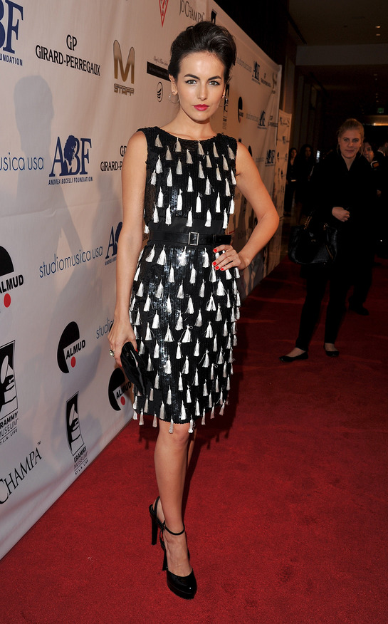 Camilla Belle at Andrea Bocelli Foundation Launch
