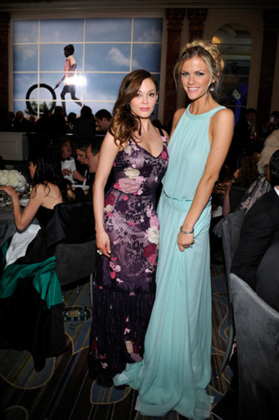 Brooklyn Decker and Rose McGowan at UNICEF Ball