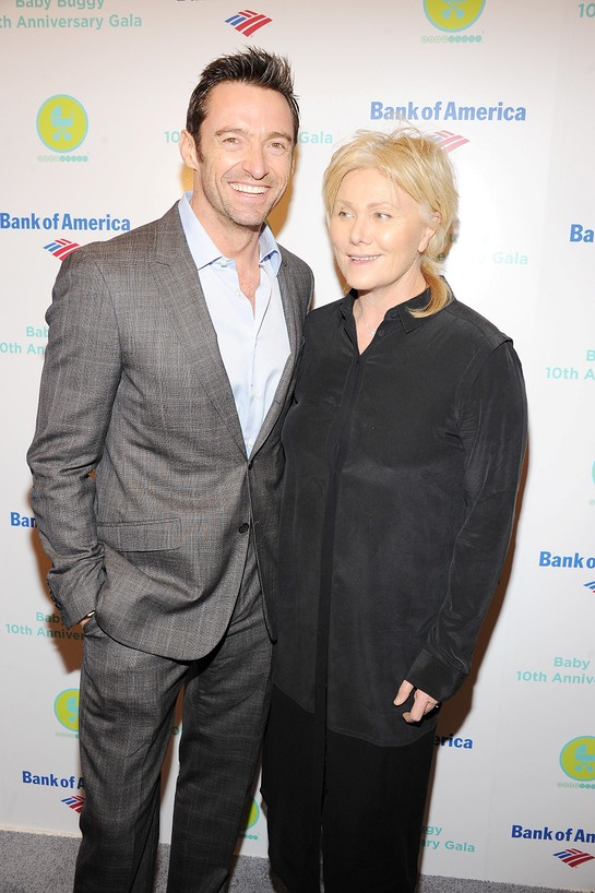 Hugh Jackman and Deborra-Lee Furness at Baby Buggy Gala