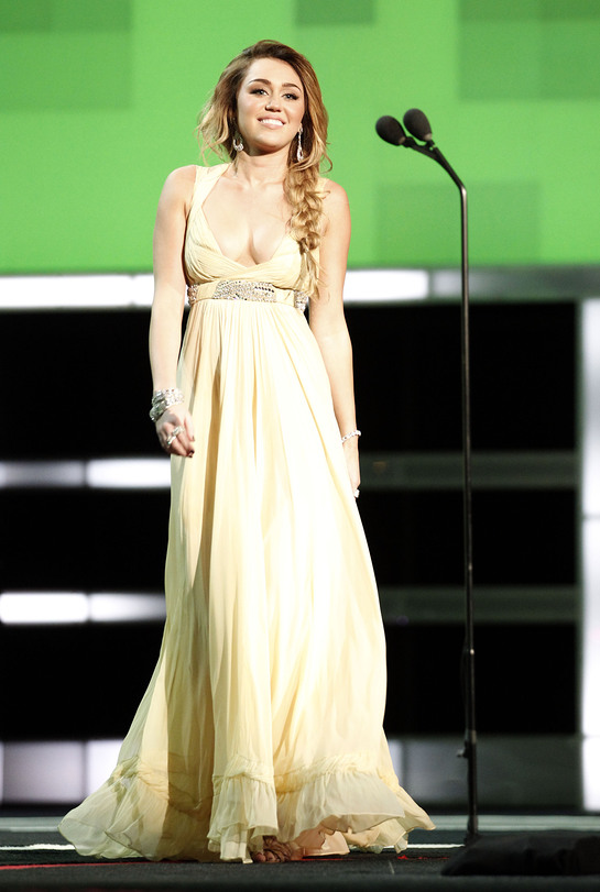Miley Cyrus at CNN Heroes