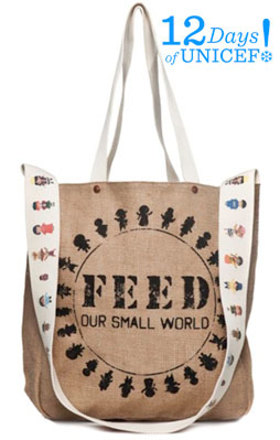 Feed Our Small World Tote