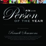 PETA Names Russell Simmons As 2011 Person Of The Year