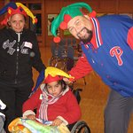 Ultimate Bad Guy Brings Happy Hats To Kids In Hospital