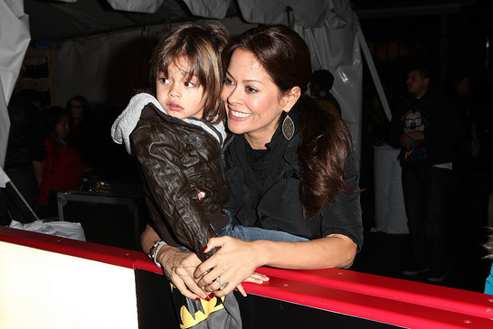 Brooke Burke at AEG Season of Giving event