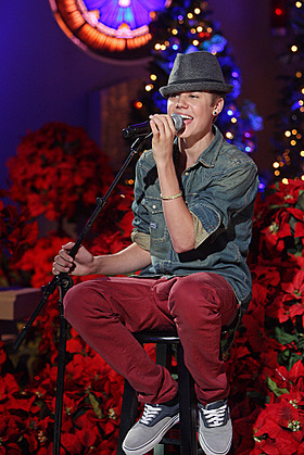 Justin Bieber A HOME FOR THE HOLIDAYS WITH MARTINA McBRIDE